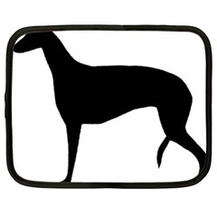 Greyhound Silhouette Netbook Case (XXL)
