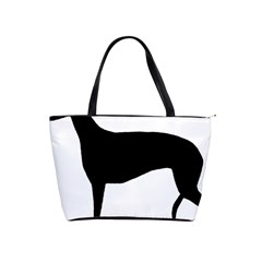 Greyhound Silhouette Shoulder Handbags