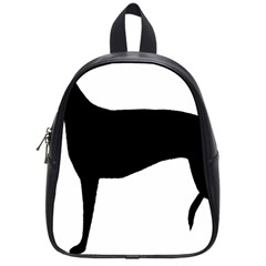 Greyhound Silhouette School Bags (Small)