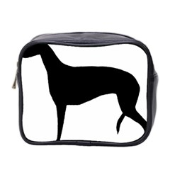 Greyhound Silhouette Mini Toiletries Bag 2-Side