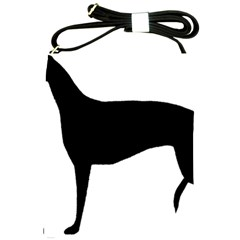 Greyhound Silhouette Shoulder Sling Bags