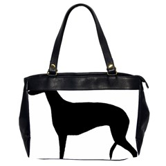 Greyhound Silhouette Office Handbags (2 Sides)
