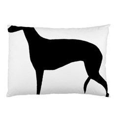 Greyhound Silhouette Pillow Case (Two Sides)