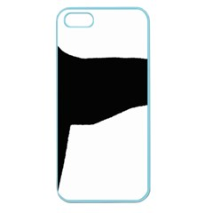 Greyhound Silhouette Apple Seamless iPhone 5 Case (Color)