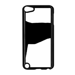 Greyhound Silhouette Apple iPod Touch 5 Case (Black)