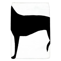 Greyhound Silhouette Flap Covers (S)