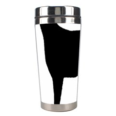 Greyhound Silhouette Stainless Steel Travel Tumblers