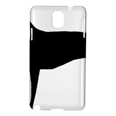 Greyhound Silhouette Samsung Galaxy Note 3 N9005 Hardshell Case