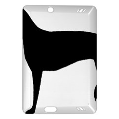 Greyhound Silhouette Amazon Kindle Fire HD (2013) Hardshell Case