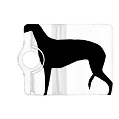Greyhound Silhouette Kindle Fire HD (2013) Flip 360 Case