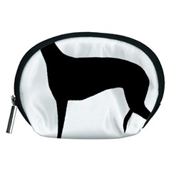 Greyhound Silhouette Accessory Pouches (Medium)