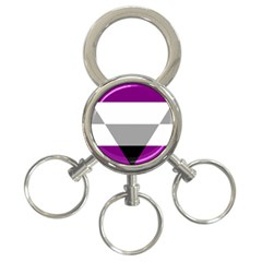 Autochorissexual 3-Ring Key Chains