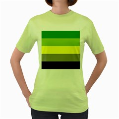 Aromantic Women s Green T Shirt
