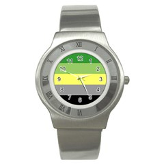 Aromantic Stainless Steel Watch