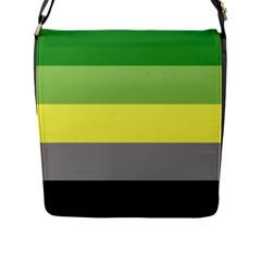 Aromantic Flap Messenger Bag (L)