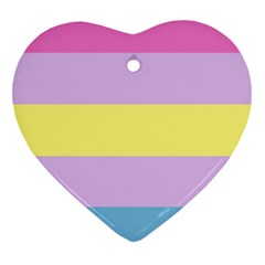Aporagender Heart Ornament (Two Sides)