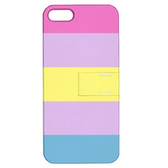 Aporagender Apple iPhone 5 Hardshell Case with Stand