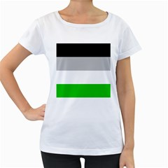 Androphilia Women s Loose-Fit T-Shirt (White)