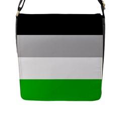 Androphilia Flap Messenger Bag (L)