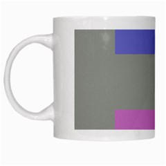 Androgynous White Mugs