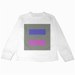 Androgynous Kids Long Sleeve T-Shirts