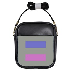 Androgynous Girls Sling Bags
