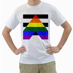 Ally Men s T-Shirt (White)