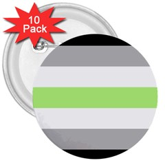 Agender 3  Buttons (10 Pack)