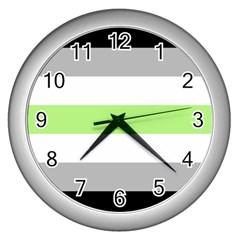 Agender Wall Clocks (Silver)
