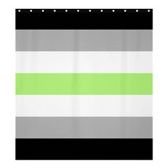 Agender Shower Curtain 66  x 72  (Large)