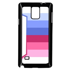 adult baby diaper lover Samsung Galaxy Note 4 Case (Black)