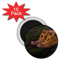 Hiking Boots 1 75  Magnets (10 Pack)