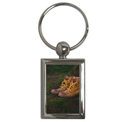 Hiking Boots Key Chains (Rectangle)
