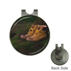 Hiking Boots Hat Clips with Golf Markers