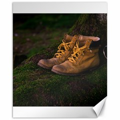 Hiking Boots Canvas 16  x 20