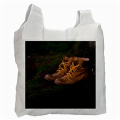 Hiking Boots Recycle Bag (One Side)
