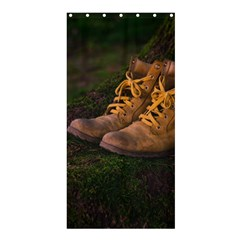 Hiking Boots Shower Curtain 36  X 72  (stall)
