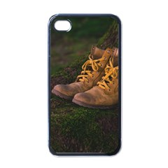 Hiking Boots Apple iPhone 4 Case (Black)