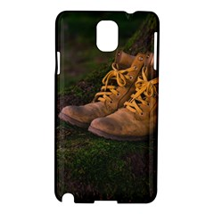 Hiking Boots Samsung Galaxy Note 3 N9005 Hardshell Case