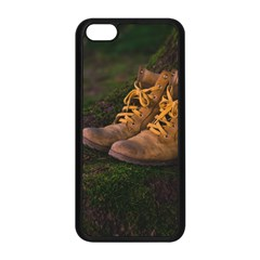 Hiking Boots Apple iPhone 5C Seamless Case (Black)
