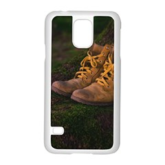 Hiking Boots Samsung Galaxy S5 Case (White)