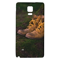 Hiking Boots Galaxy Note 4 Back Case