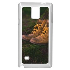Hiking Boots Samsung Galaxy Note 4 Case (White)