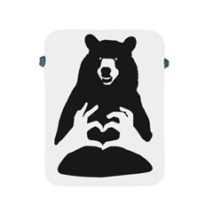 Love Bear Silhouette Apple iPad 2/3/4 Protective Soft Cases