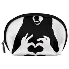 Love Bear Silhouette Accessory Pouches (Large)