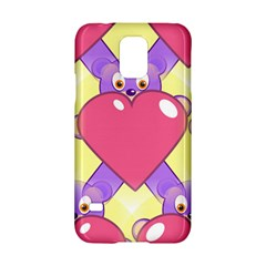 Cartoon Bear Bg Samsung Galaxy S5 Hardshell Case