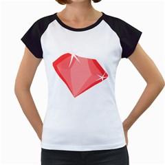Ruby Women s Cap Sleeve T