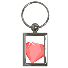 Ruby Key Chains (Rectangle)