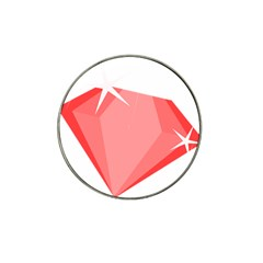 Ruby Hat Clip Ball Marker (10 pack)