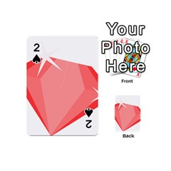 Ruby Playing Cards 54 (Mini)